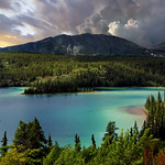 Emerald Lake From South Klondike Highway, Southern Yukon, Canada :: HDR